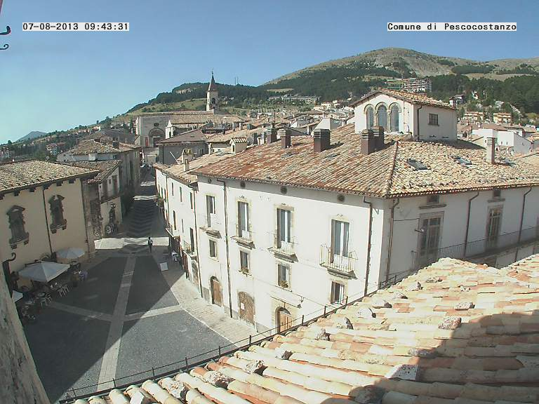 Webcam Pescocostanzo - Piazza Municipio
